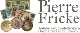 Confederate Currency and Confederate Bonds logo